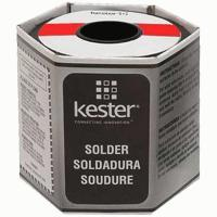 Kester Wire Solder, Sn63/Pb37, # 331 Water-Soluble Flux, 1-lb. Roll