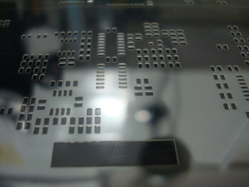 Mylar and Kapton SMT Stencils